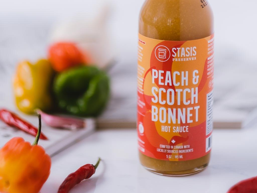 Peach & Scotch Bonnet