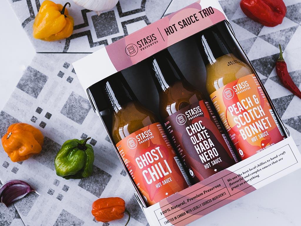 Hot Sauce Trio Pack